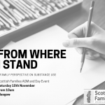 SAVE THE DATE: From Where I Stand - A Family Perspective on Substance Use
