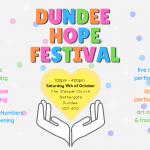 #DundeeHopeFestival - celebrate hope & community with us this October!