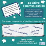 Seven Elements of Positive Communication (Talking With Your Loved One)